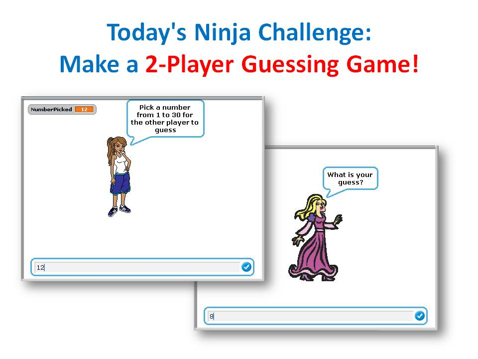 Intermediate Scratch – Challenge 12 – 2-Player Network Guessing Game