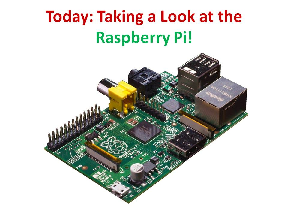 Beginners/Intermediate Scratch – Challenge 13 – Learn about the Raspberry Pi