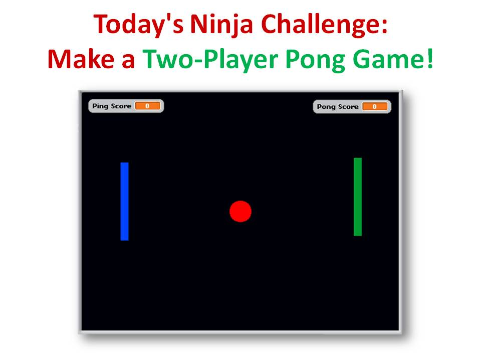 Intermediate Scratch - Challenge 14 - Build a Network Pong Game!