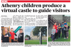 Athenry Castle Minecrafters