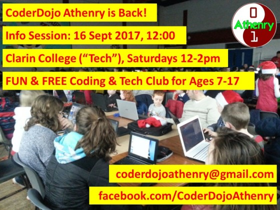 CoderDojoAthenry-Returning